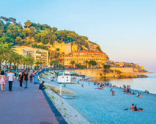 learn French in Nice France