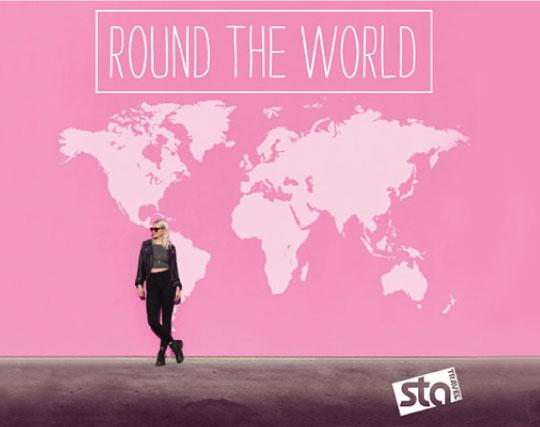 ROUND THE WORLD TICKET